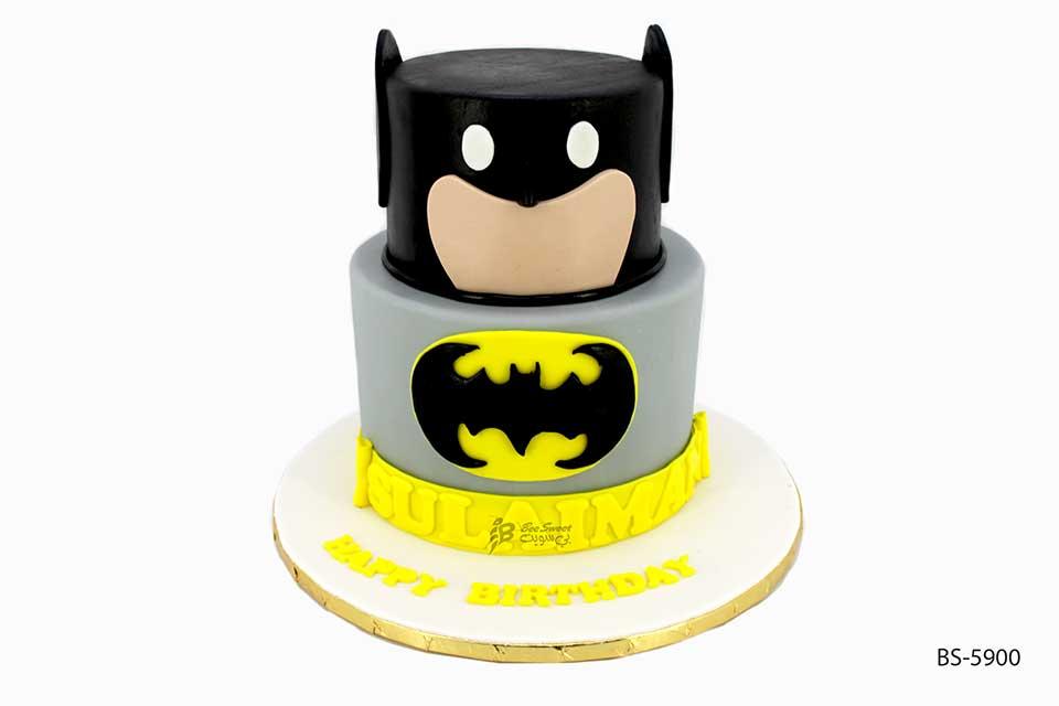Batman Cake Bs 5900 Boy Birthday Cake Bee Sweet Uae