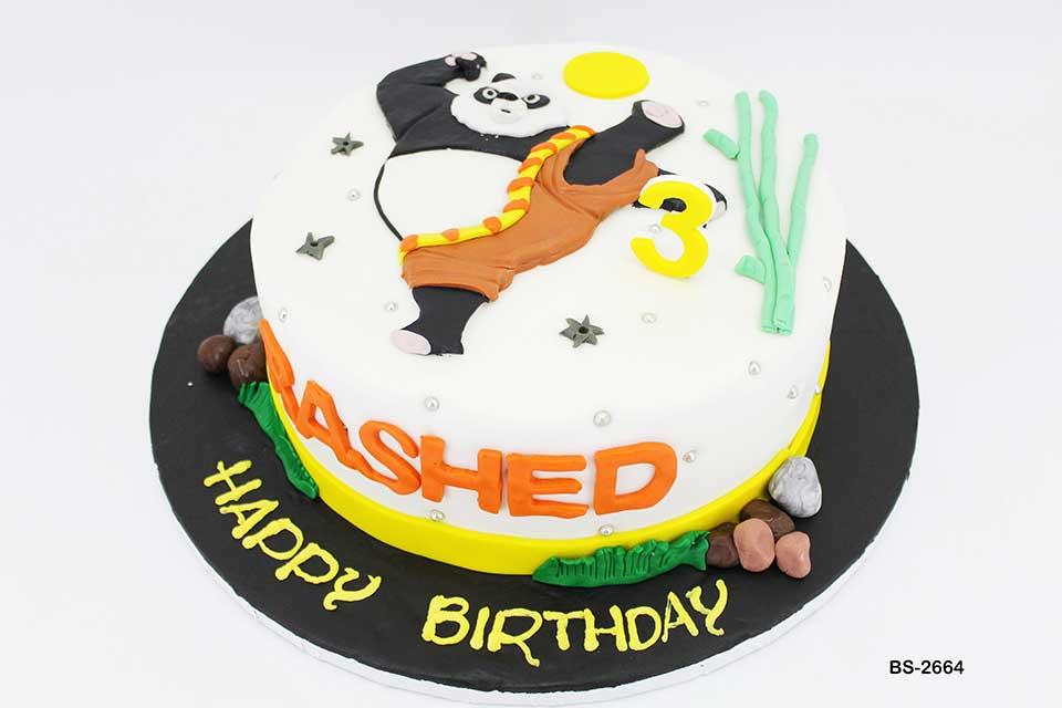 Awe Inspiring Kung Fu Panda Cake Bs 2664 Bee Sweet Uae Epic Birthday Cakes Funny Birthday Cards Online Alyptdamsfinfo