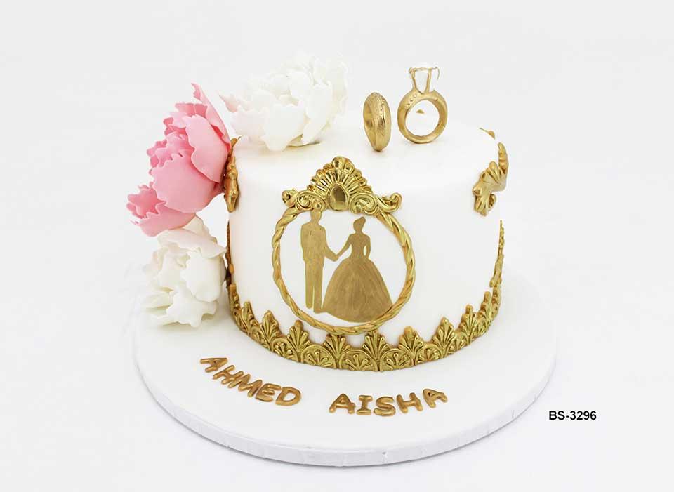 Wedding Cake Bs 3296 Bee Sweet Uae Best Wedding Cake