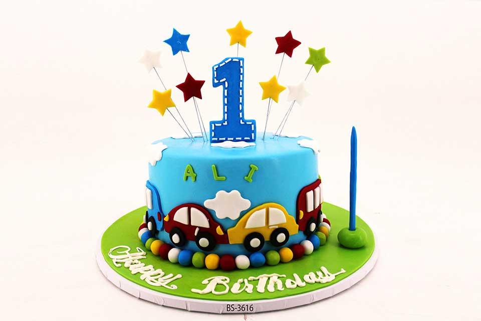 Awe Inspiring Baby Birthday Cake Bs 3616 Bee Sweet Uae Personalised Birthday Cards Paralily Jamesorg