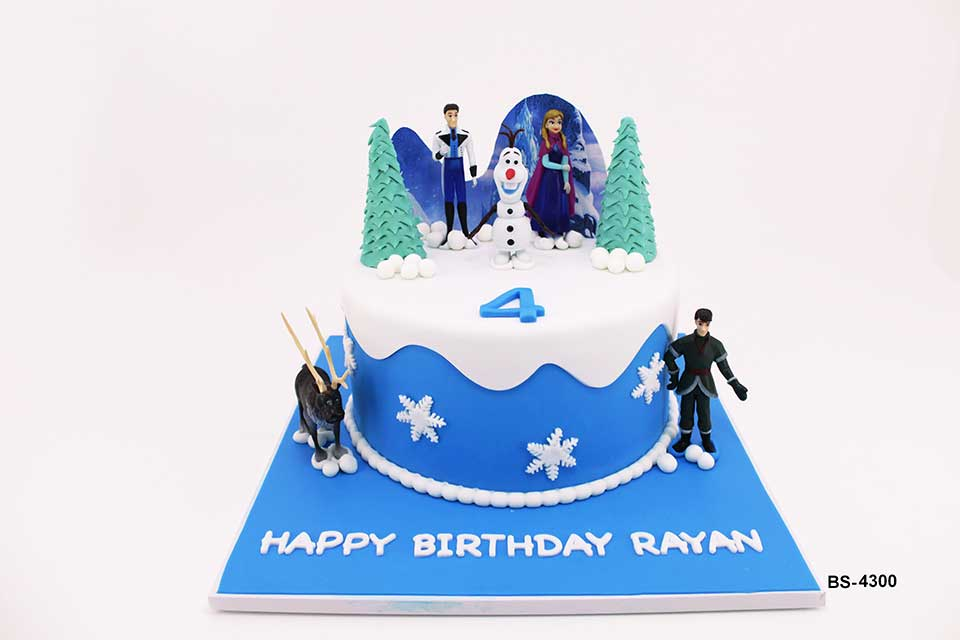 Frozen Birthday Cake (BS