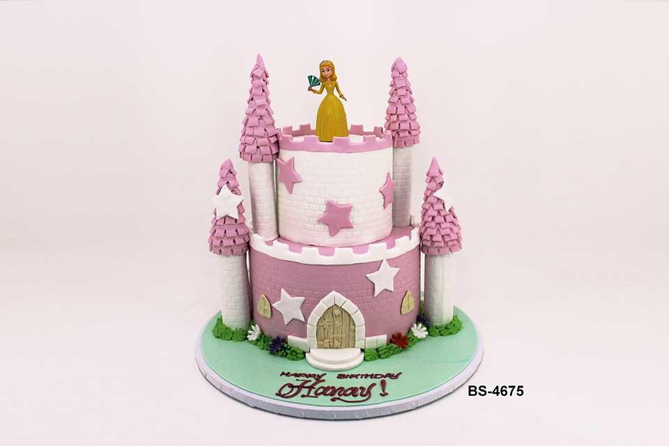 Enjoyable Best Castle Birthday Cake Bs 4675 Bee Sweet Uae Personalised Birthday Cards Petedlily Jamesorg