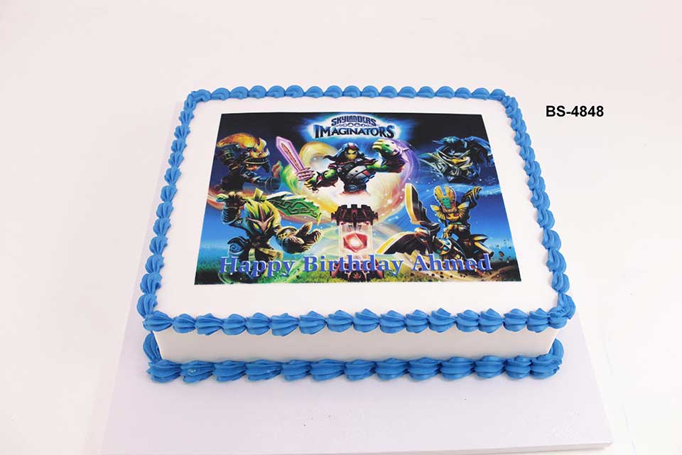 Marvelous Skylanders Cake Bs 4848 Bee Sweet Uae Epic Birthday Cake Funny Birthday Cards Online Elaedamsfinfo