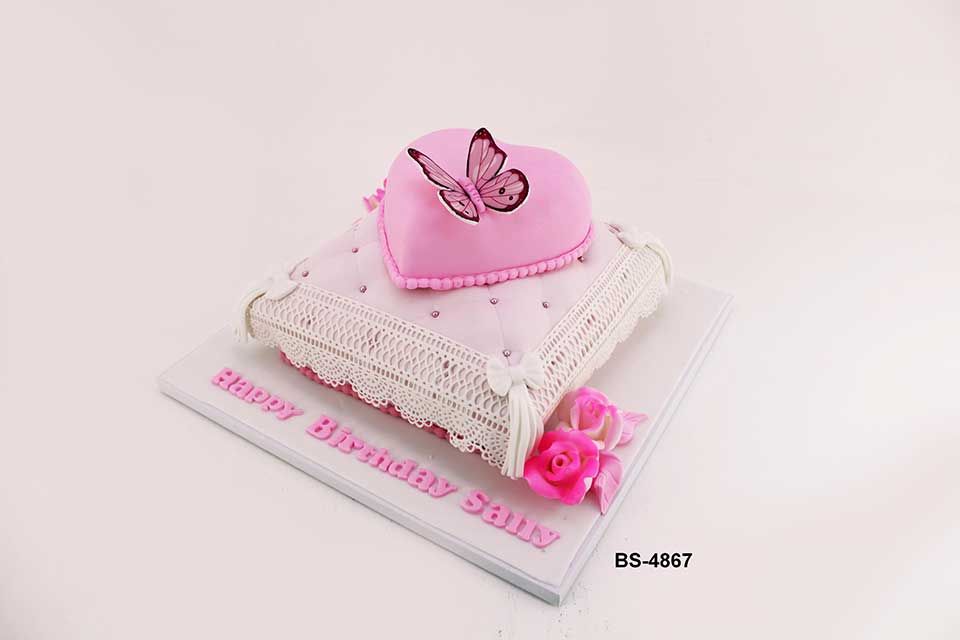 Prime Butterfly Birthday Cake Bs 4867 Bee Sweet Uae Best Cakes Personalised Birthday Cards Petedlily Jamesorg