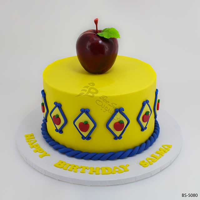 Pleasing Best Snow White Birthday Cake Bs 5080 Bee Sweet Uae Funny Birthday Cards Online Alyptdamsfinfo
