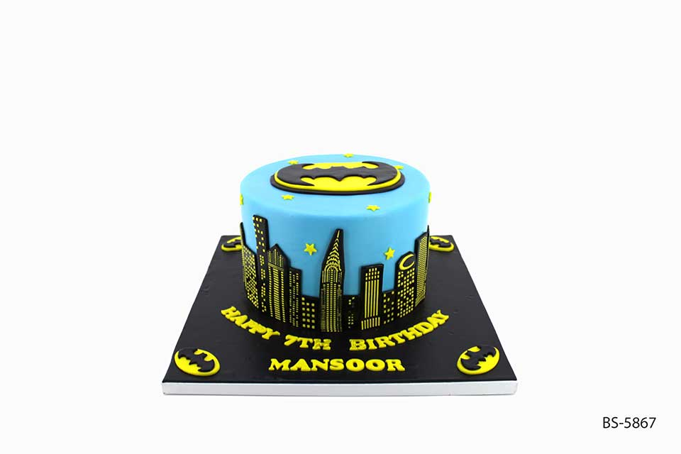 Amazing Batman Cake Bs 5867 Birthday Boy Bee Sweet Uae Birthday Cards Printable Opercafe Filternl
