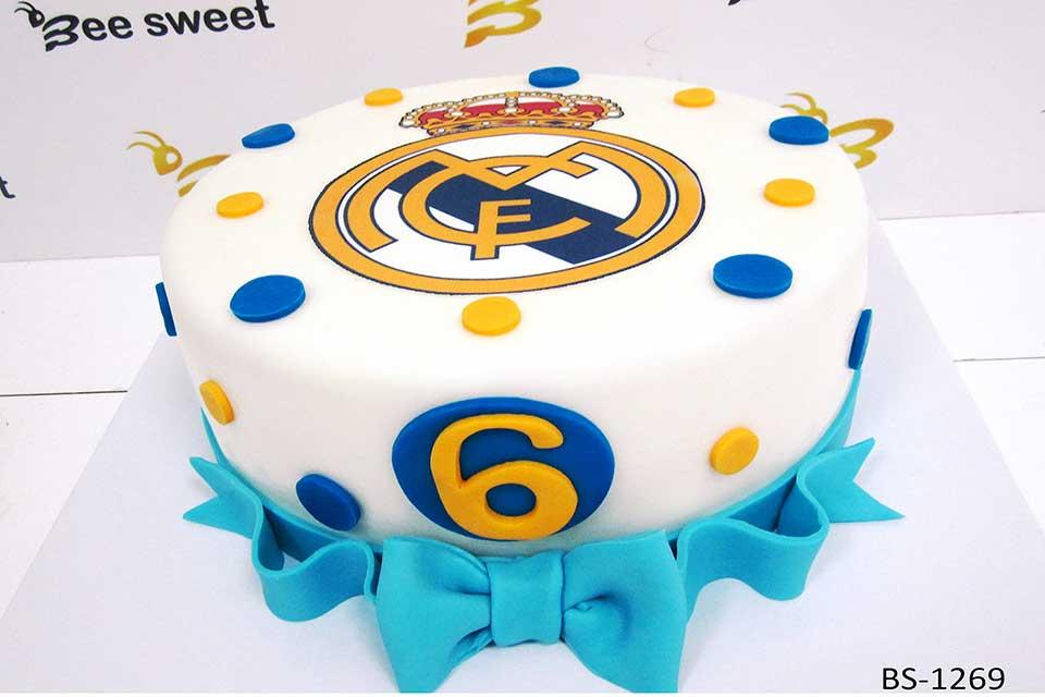 Fantastic Football Birthday Cake Bs 1269 Bee Sweet Uae Best Cakes Funny Birthday Cards Online Elaedamsfinfo
