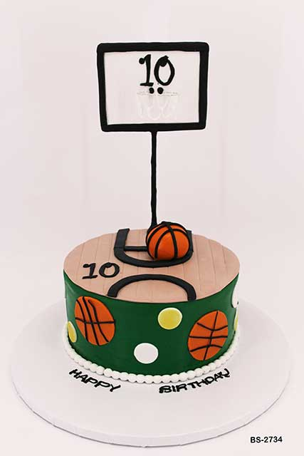 Outstanding Basketball Birthday Cake Bs 2734 Bee Sweet Uae Best Cakes Funny Birthday Cards Online Alyptdamsfinfo