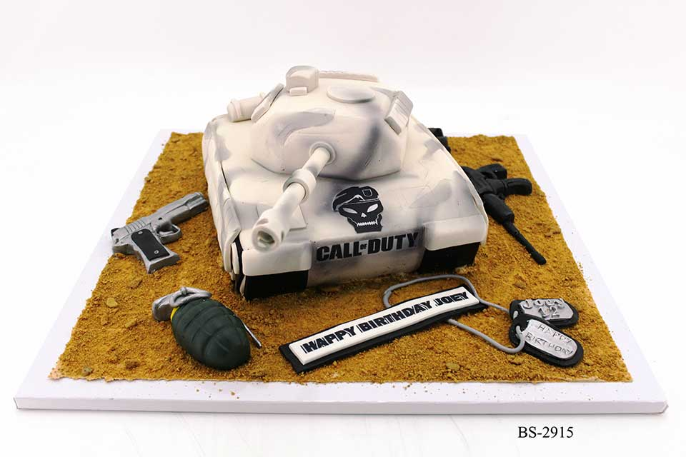 Prime Battle Tank Birthday Cakes Bs 2915 Bee Sweet Uae Best Cakes Birthday Cards Printable Riciscafe Filternl