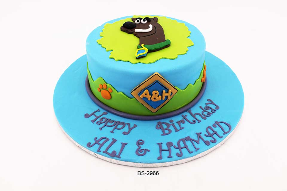 Magnificent Scooby Doo Birthday Cake Bs 2966 Bee Sweet Uae Best Cakes Funny Birthday Cards Online Alyptdamsfinfo