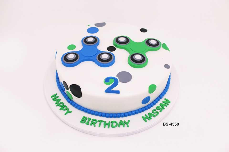 Fidget Spinner Cake (BS-4550)