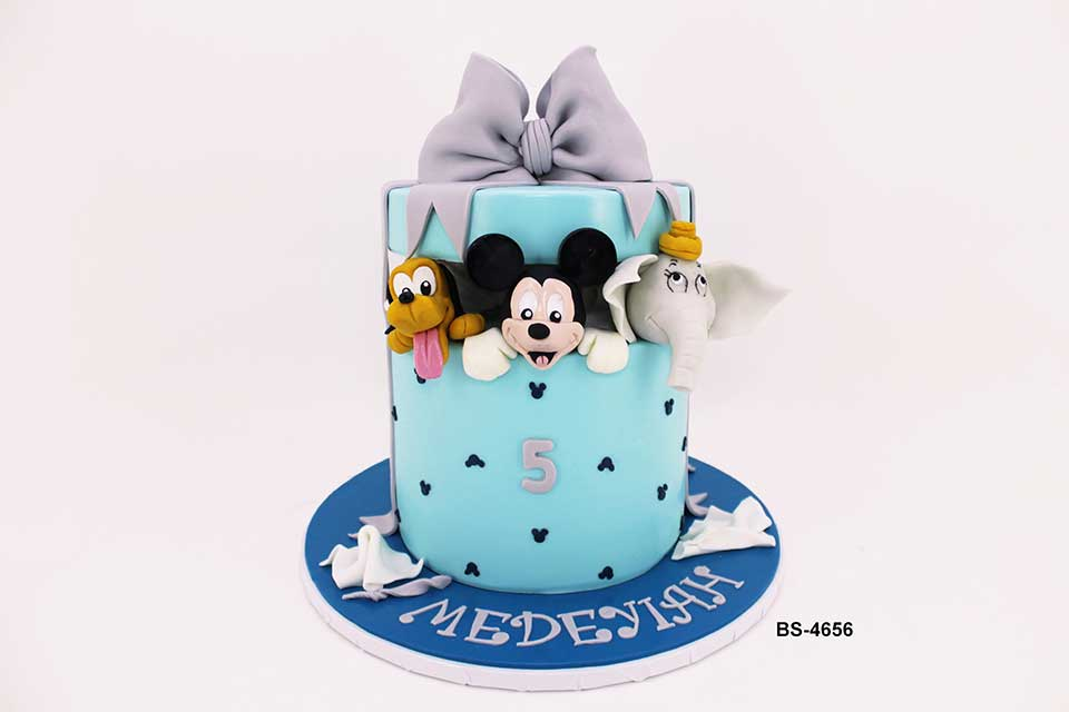 Mickey Mouse Cake (BS-4656)