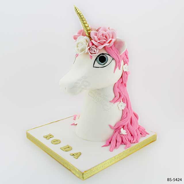 3D Unicorn Cake (BS-5424)