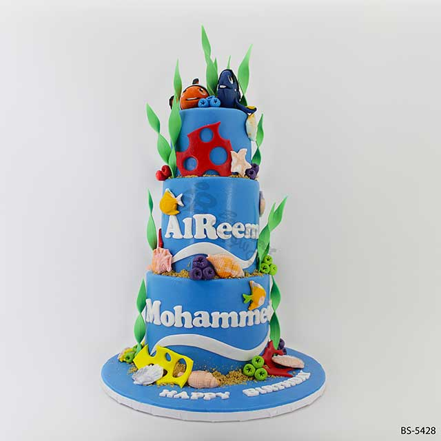 Finding Nemo Cake (BS-5428)