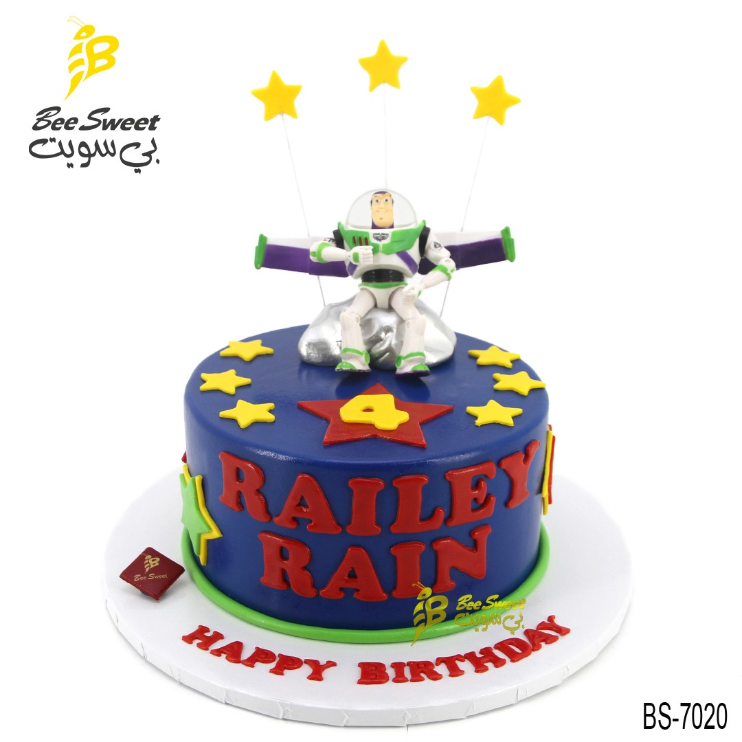 Admirable Toy Story Birthday Cakes Bs 7020 Bee Sweet Uae Best Cakes Personalised Birthday Cards Rectzonderlifede